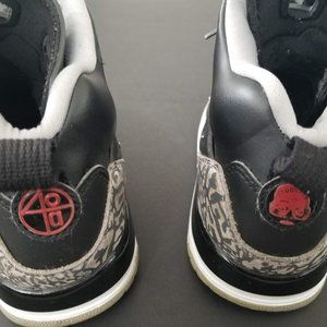 Jordan Shoes - Boys Black Jordans Size 6Y